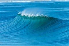 Wellenberg-Ozean-szenische Landschaft lizenzfreies stockfoto