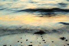Wellenbewegungsauszug Stockfoto