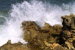 Wellenbrechen Stockfotos