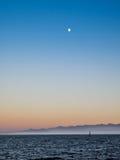 Wellenbrecher bei Ogden Point in Victoria BC Kanada; Sonnenuntergangti Lizenzfreie Stockfotografie