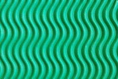 Wellenförmige grüne Pappe Lizenzfreie Stockfotografie