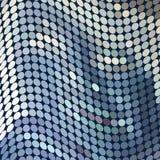 Wellenförmige Punkte Lizenzfreie Stockfotografie