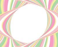 Wellenförmige Retro- grafische Auslegung Stockbilder
