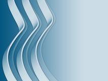 Wellenförmige Zeile Stockbilder