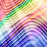 Wellenförmige Zeilen lizenzfreie stockfotos
