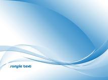 Wellenförmige Zeilen Lizenzfreies Stockfoto