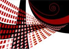 Wellenförmiger abstrakter Hintergrund Lizenzfreies Stockbild