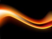 Wellenförmiger greller Vektor stock abbildung