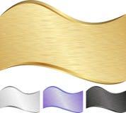 Wellenförmiger Hintergrund Stockbilder