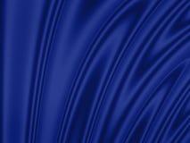Wellenförmiger Hintergrund: blau Lizenzfreies Stockfoto