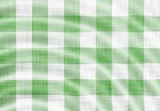 Wellenförmiges Picknicktuch Stockfotos