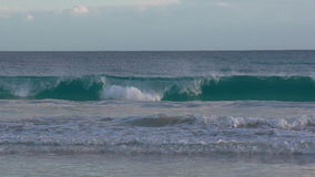 Wellenfalten stockfoto