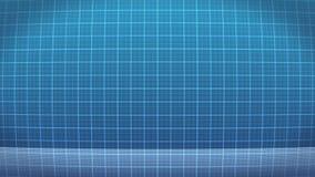 Wellenformmonitor/Herzschlag ECG/Pulswelle/loopable vektor abbildung