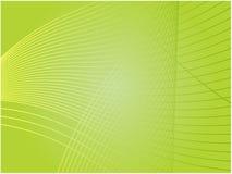 Wellenförmige glühende Farben Lizenzfreies Stockfoto