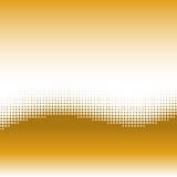 Wellenhintergrund mit Halbtoneffekt stock abbildung