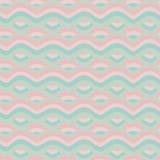 Wellenhintergrund. Muster. Stock Abbildung