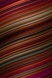 Wellenlinie Musterabdeckungshintergrund, Illusion gestreift lizenzfreie abbildung