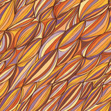 Wellenlinie nahtloses Muster Stockfoto