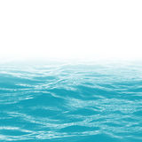Wellenraum des blauen Wassers stock abbildung