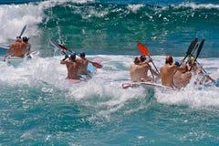 Wellenrennen Lizenzfreie Stockfotografie