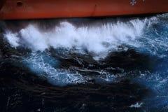 Wellenschlagen Stockbild