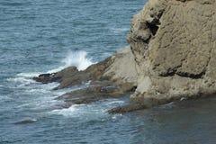 Wellenspritzen Stockbilder