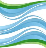 Wellenvektorhintergrund Stockfoto