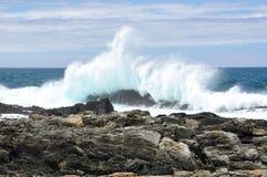 Wellenzerquetschung Lizenzfreie Stockbilder