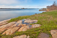 Wellesley-Insel-Küstenlandschaft - HDR Lizenzfreie Stockbilder