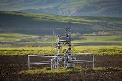 Wellhead природного газа Стоковые Фотографии RF