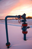 Wellhead Royalty Free Stock Photo
