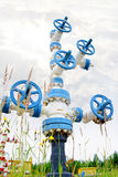 Wellhead. Stock Image