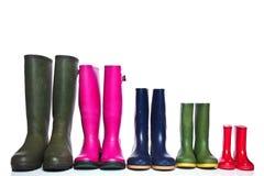 wellie группы ботинок Стоковое Изображение