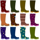 Wellies Stock Images