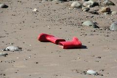 Wellies rouge Photos libres de droits