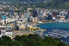 Wellington, aerial view Stock Photos
