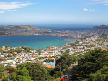 Wellington aerial view - New Zealand Stock Images