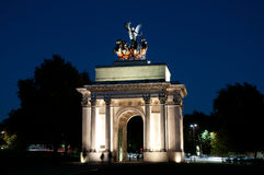 The Wellington Arch Royalty Free Stock Images