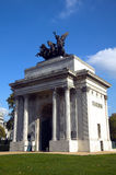 Wellington Arch Stock Photo