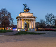 Wellington Arch at constitution hill Royalty Free Stock Image