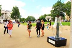 Wellington Arch Dream-Glas London Lizenzfreie Stockfotos