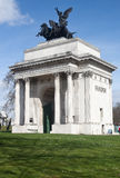 Wellington Arch in London Royalty Free Stock Photography