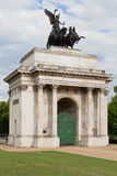 Wellington Arch in London Stock Photo