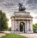 Wellington Arch London imagenes de archivo