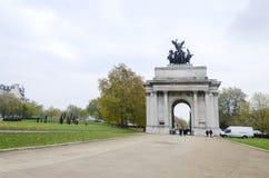 Wellington Arch, London Stock Photo