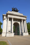 Wellington Arch in London Royalty Free Stock Image