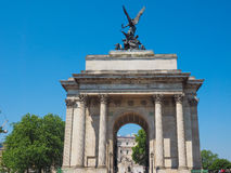 Wellington arch in London Royalty Free Stock Images