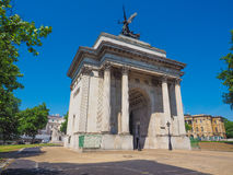Wellington arch in London Royalty Free Stock Photos
