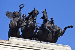 Wellington Arch Quadriga Royalty Free Stock Photo
