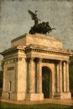 Wellington arch - Vintage Royalty Free Stock Photos